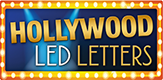 Hollywood LED Letters