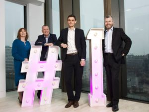 grant thornton #1 graduates dublin ireland giant hashtag numbers