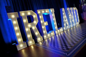 ireland exhibition rds dublin paul sherwood photography hollywood led letters business tourism